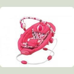 Шезлонг Alexis-Babymix BP245 (pink)