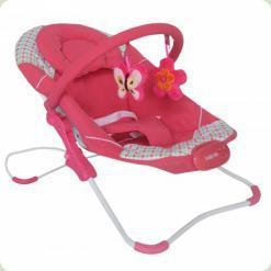 Шезлонг Alexis-Babymix BR246 (pink)