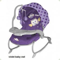 Шезлонг Bertoni DREAM TIME (violet baby owl lorelli)