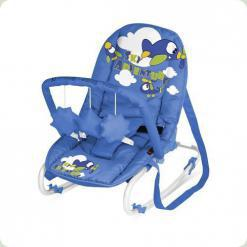 Шезлонг Bertoni TOP RELAX (с игрушкой) (blue sky adventure)