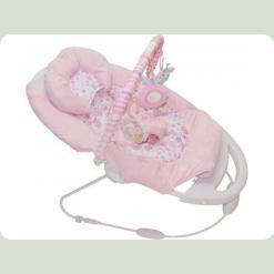 Шезлонг-качалка Bambi 50358 Розовый
