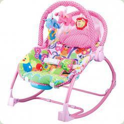 Шезлонг-качалка Bambi PK 308 Pink