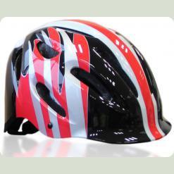 Шлем Explore Pico S Черно-бело-красный