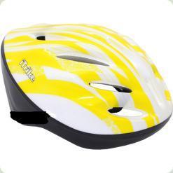 Шлем Profi Trike MS 0343 Белый с желтым