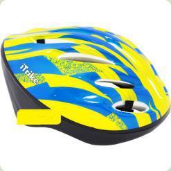 Шлем Profi Trike MS 0343 Желтый с синим