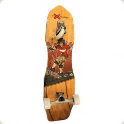 Скейт Explore Crossboard Бежевый