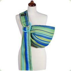 Слинг Womar Zaffiro №16 - голубой-зеленый (ремены) - цвет 21