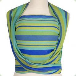 Слинг Womar Zaffiro №17 - голубой-зеленый (ремены) - цвет 21