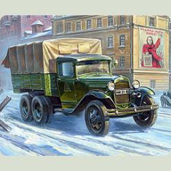 """Сов. трёхосный грузовик """"ГАЗ-ААА"""""""