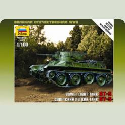 Советский танк БТ-5