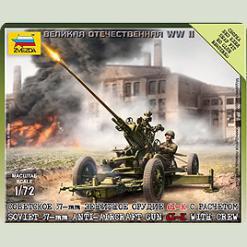 Советское 37-мм зенитное орудие