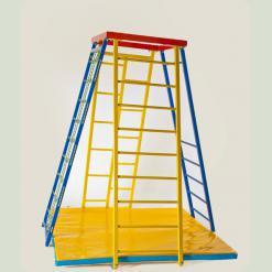 Спорткомплекс Пирамида для детей плюс мат
