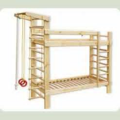 Спортивная двухъярусная кровать Babygrai