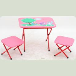 Стол с 2-мя стульчиками OMMI Смешарик Красный