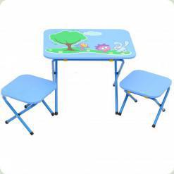 Стол с 2-мя стульчиками OMMI Смешарик Синий