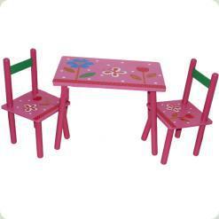 Столик Baby Tilly B18319 с двумя стульчиками