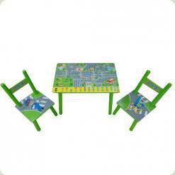 Столик Bambi 2547-33 с двумя стульчиками WinX