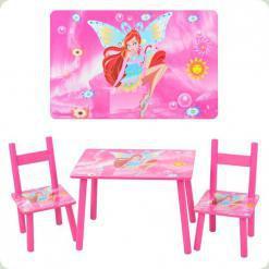 Столик Bambi 2547-36 с двумя стульчиками WinX