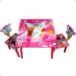 Столик Bambi D 11551 с двумя стульчиками WinX