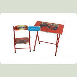 Столик Bambi DT 19-1 со стулом Спайдермен