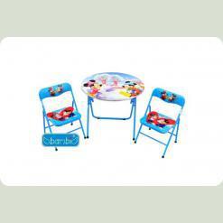 Столик Bambi DT 22-13 с двумя стульчиками S2 Минни