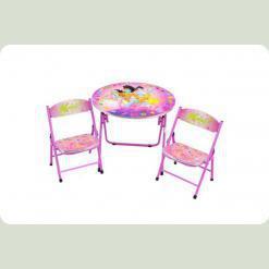 Столик Bambi DT 22-15 с двумя стульчиками H2 ВинХ