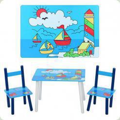 Столик Bambi E 03-2100 с двумя стульчиками