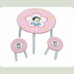 Столик с двумя стульчиками Baby Tilly Белоснежка (W02-886 (H915))