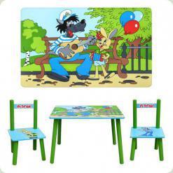 Столик с двумя стульчиками Bambi M 1433 Ну, Погоди!