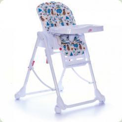 Стульчик для кормления Babycare Mosaic Blue Tree