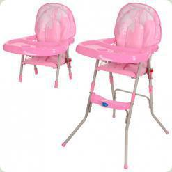 Стульчик для кормления Bambi GL 217-8 Розовый