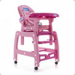 Стульчик для кормления Bambi M 1563-8 Розовый