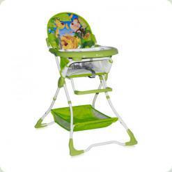 Стульчик для кормления Bertoni BRAVO (green jungle)