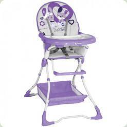 Стульчик для кормления Bertoni BRAVO (violet bunnies)
