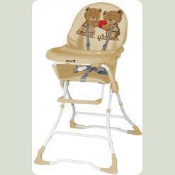 Стульчик для кормления Bertoni CANDY (beige brown bears)