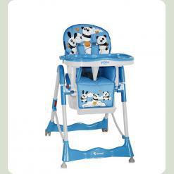 Стульчик для кормления Bertoni Primo Blue Pandas