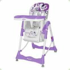 Стульчик для кормления Bertoni Primo Violet Bunnies