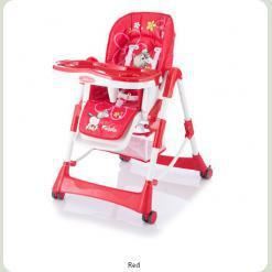 Стульчик для кормления Capella Piero Fabula Horse Red