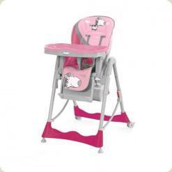 Стульчик для кормления Mioo HC50 Zebra Pink