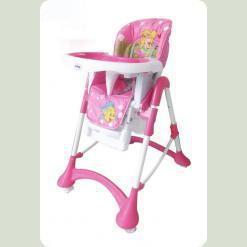 Стульчик для кормления Mioo HC55 Little Mermaid Pink