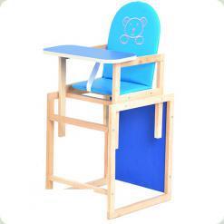 Стульчик-трансформер OMMI Blue