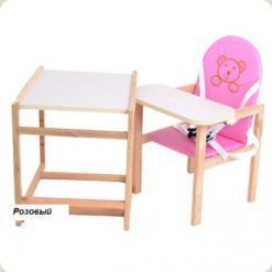 Стульчик-трансформер OMMI Plus Розовый