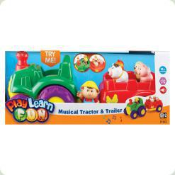 Трактор с трейлером Keenway (31222)