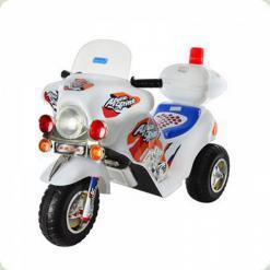 Трехколесный детский мотоцикл ZP 9983-1 Bambi (белый)