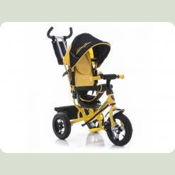 Трехколесный велосипед Azimut AIR Lamborghini Желтый