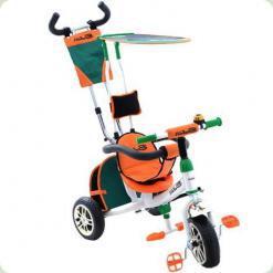 Трехколесный велосипед Azimut BC-15 An Air Safari Бело-оранжевый