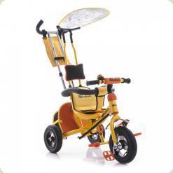 Трехколесный велосипед Azimut BC-15 An Safari Желтый
