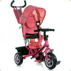 Трехколесный велосипед Azimut BC-17 B2B Розовый