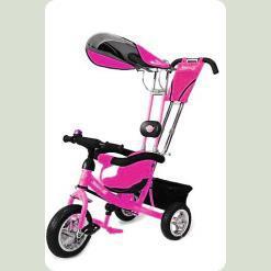 Трехколесный велосипед Azimut Лексус Розовый
