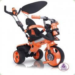Трехколесный велосипед Injusa City Trike 326-001 Оранжево-черный